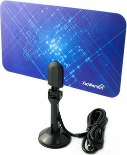 Indoor HDTV Antenna Super Thin 25 Miles Range Digtal TV Ante