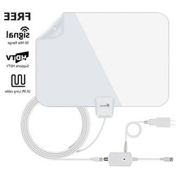 Indoor TV Antenna Vansky Amplified Digital HDTV Antenna 50 M