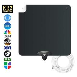 NoCable 30 - Indoor HDTV Digital Antenna | 12 Foot Cable, Fr