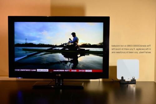 1byone 1080P Amplified FM VHF Freeview Range