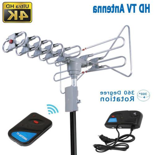 150miles ir outdoor digital amplified hdtv antenna