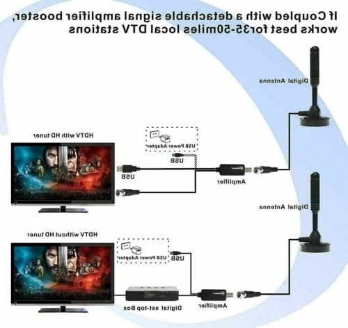 1080P HD Digital Amplified TV with Amplifier