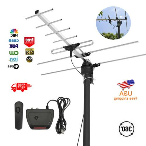 1Byone HDTV Antenna 200 Miles TV Digital HD Antena Outdoor F