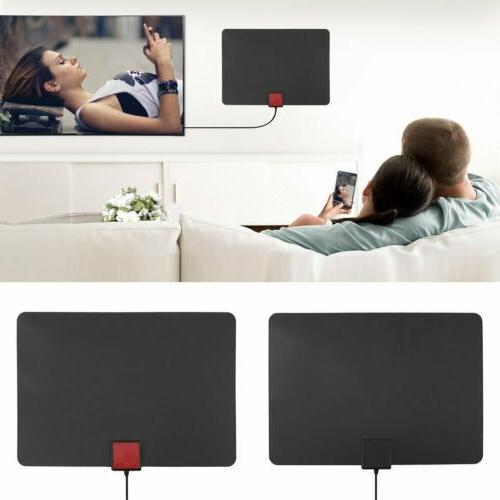 25/35/50/150 Mile Indoor HDTV Amplified TV Antenna New MA
