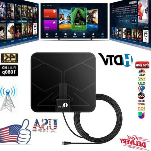 1Byone 25 Digital HDTV Indoor HD Antenna with Signal Booster