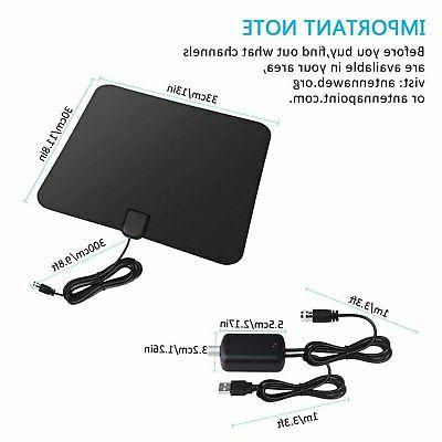 300 HD Amplified TV Antenna with Amplified 4K