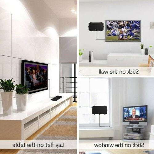 350 Mile TV Skywire Antena HDTV Indoor