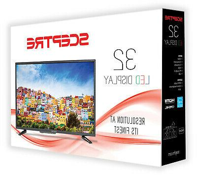 "Sceptre 32"" Class HD 720P TV with"