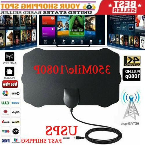 350 mile range antenna tv digital hd