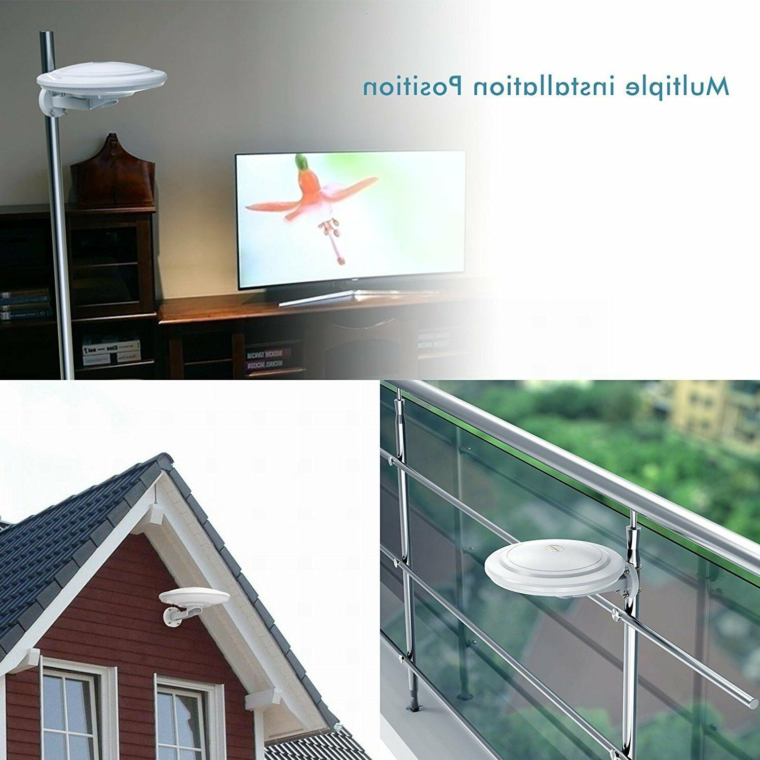 360 Reception Omni-directional Amplified Outdoor Antenna