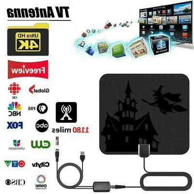 960Miles Range TV Digital Antenna 1080P HDTV 4K Skywire Indo