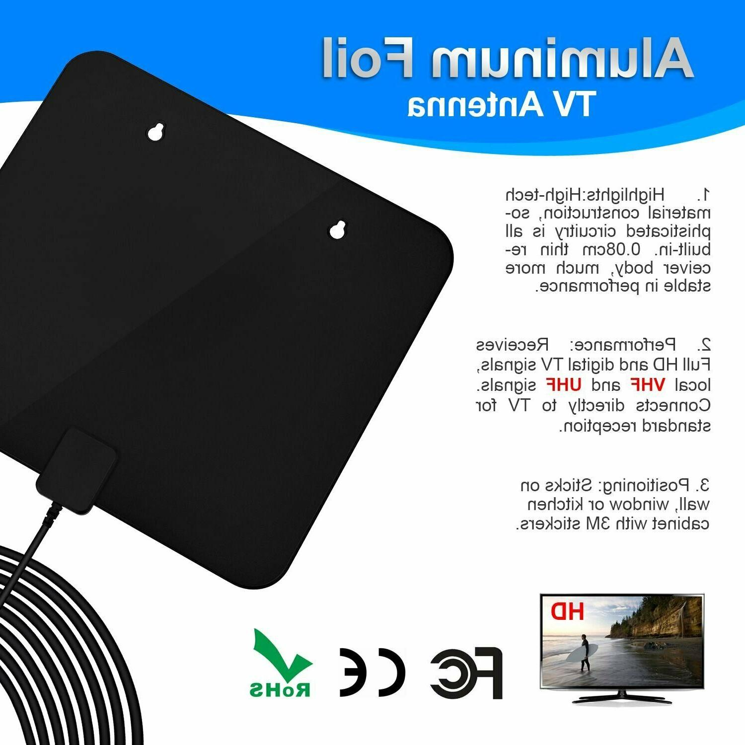 85 Mile TV HDTV 1080p Antena Digital-Antenna