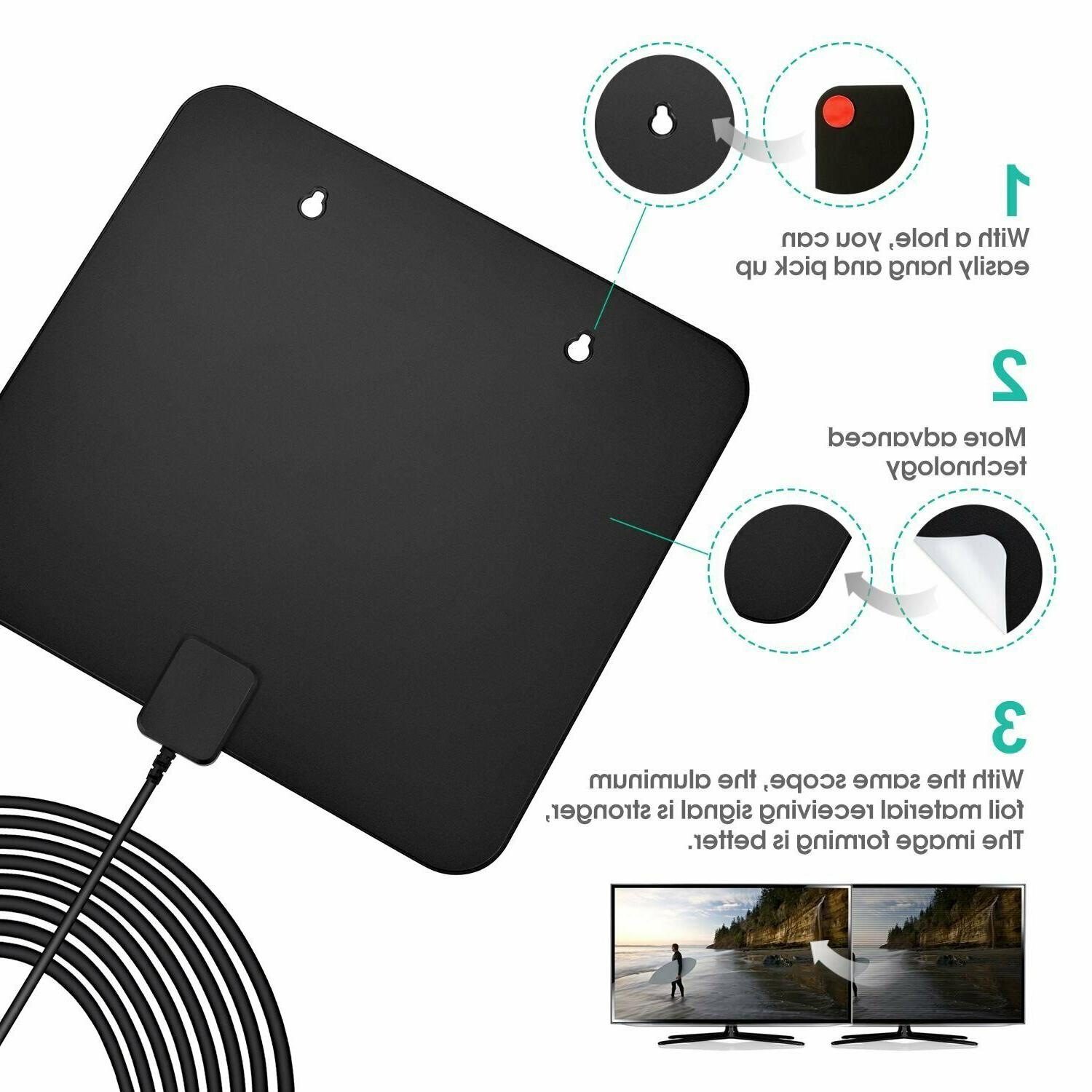 85 Mile Range TV Digital 1080p 4K Digital-Antenna