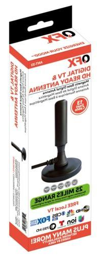 QFX ANT-23 HDTV Antenna +Magnetic Degrees Reception