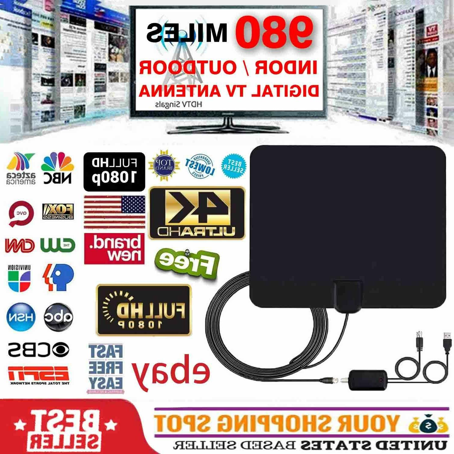 digital tv antenna 980 miles range signal