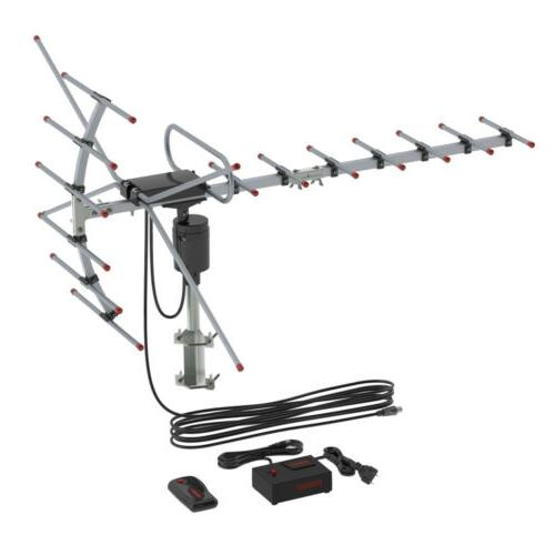 HDTV Antenna Amplified 150Miles Long Outdoor