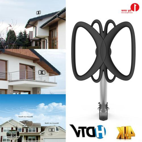 outdoor hdtv tv antenna 180 miles amplified