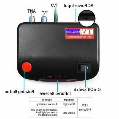 TV Antenna 150Mile 360 Rotation Outdoor With