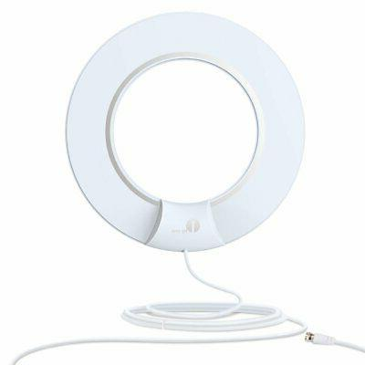 hdtv digital antenna with 35 miles range