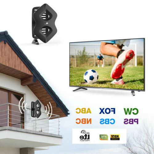 1Byone HDTV Outdoor Amplified Antenna HD UHF Freeview US