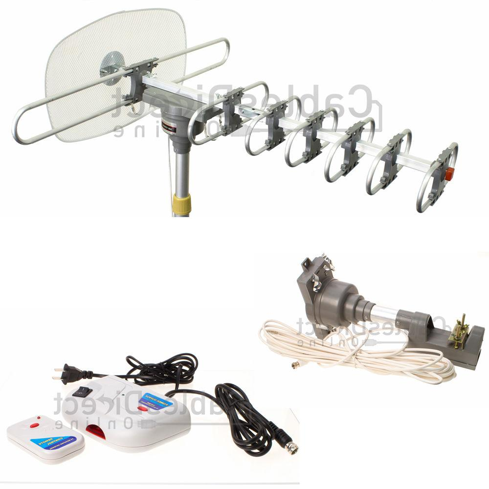 HDTV Outdoor Amplified Set Kit 36dB UHF VHF FTA Booster