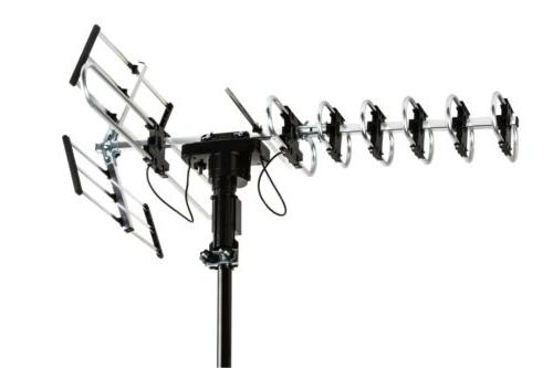 HDTV Outdoor Antenna Mile 360° Radio Remote