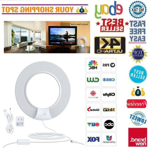 1Byone Indoor TV Antenna Digital Amplified HD Skywire 4K Dig
