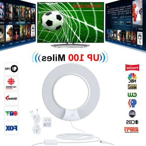 indoor hd tv antenna with digital amplified