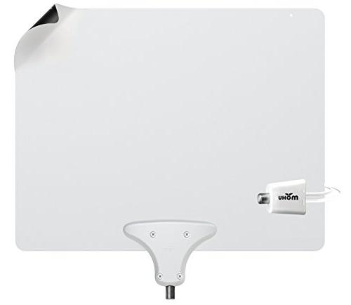 Mohu Antenna Indoor Mile Original Reversible 4K-Ready Hdtv Materials for Performance