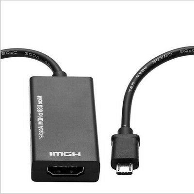 micro usb to hdmi 1080p mhl cable