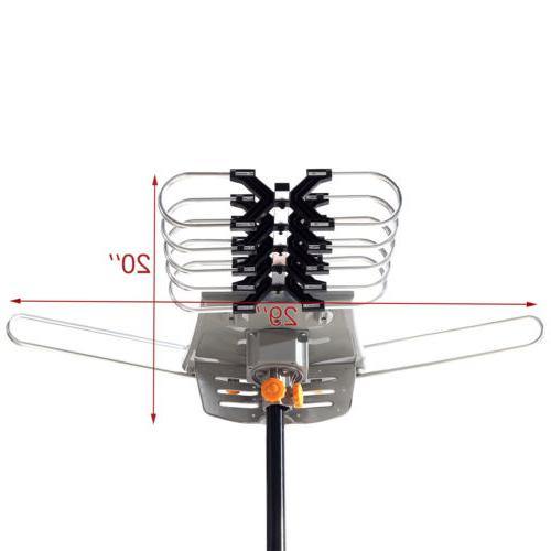 New HDTV Amplified Antenna 360 HD 150 Mile