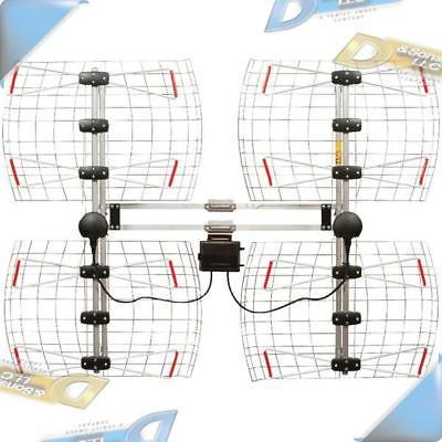 new high gain enhanced multidirectional bowtie uhf
