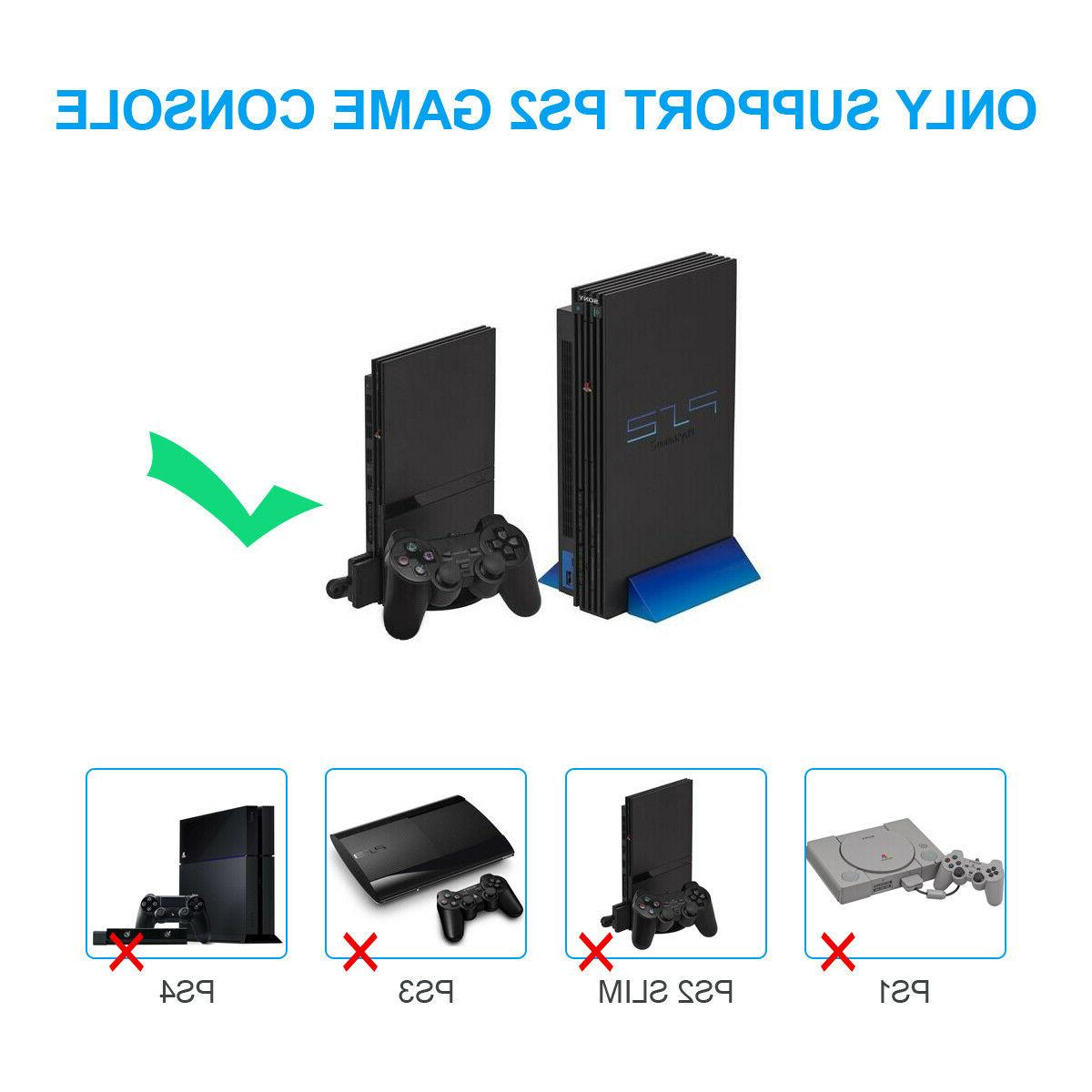 PS2 to Video Converter Adapter Audio Output Monitor