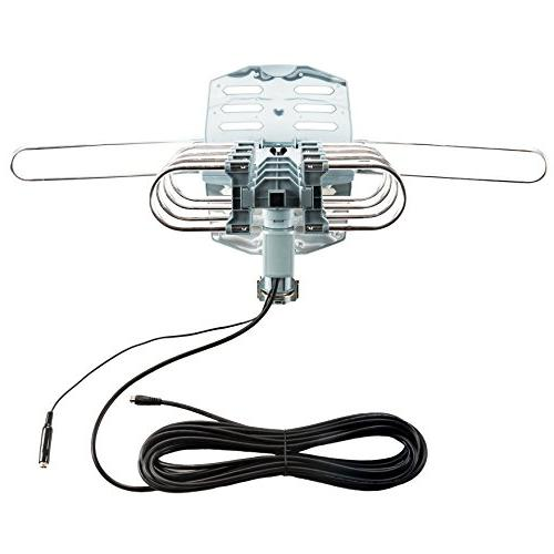InstallerParts On Amplified Outdoor 150 Long - Motorized 360 Rotation - Wireless Remote Control