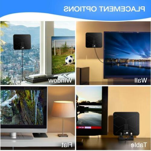 HDTV Indoor Antenna with Signal Booster