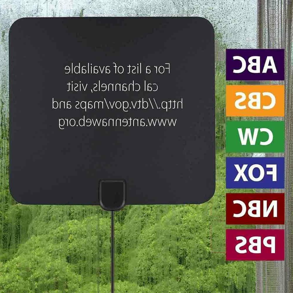 TV Antenna 200 Miles Fox 4K HD