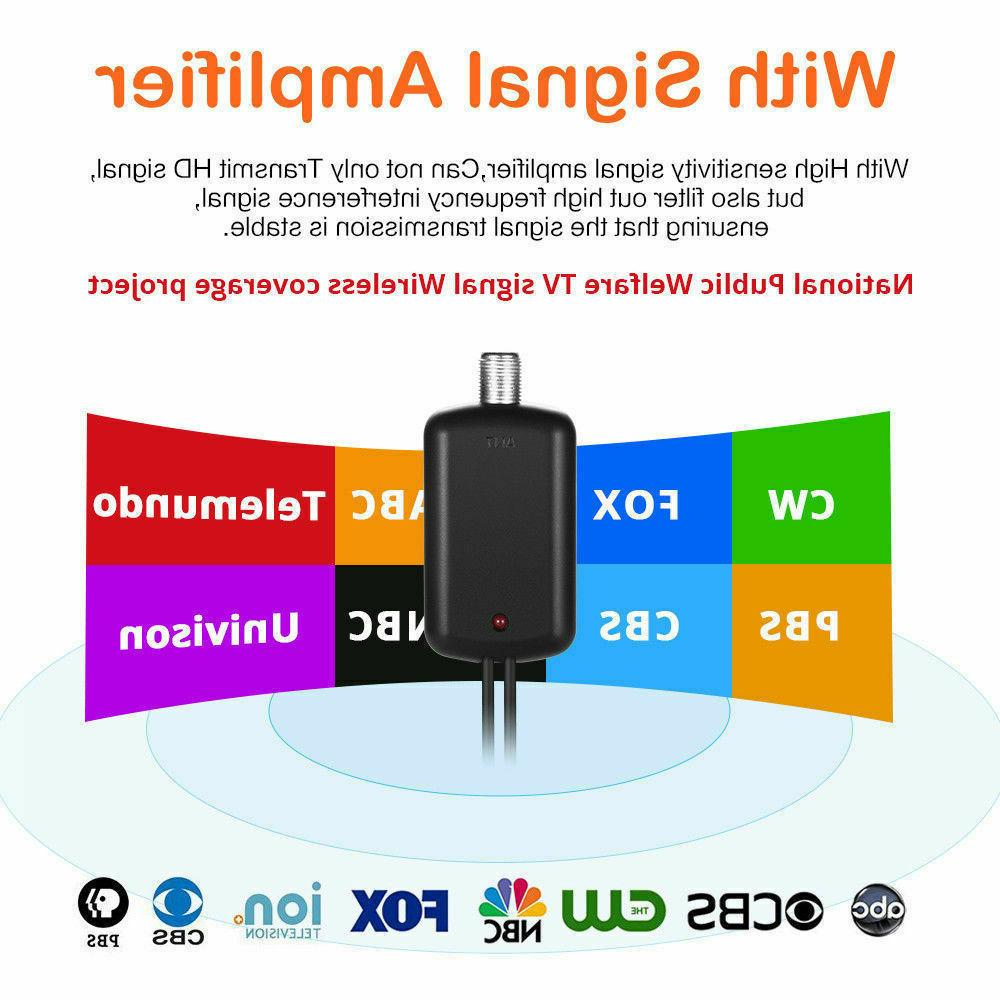 TV Antenna Digital 200 HDTV Fox TV 4K 1080P HD FreeTV