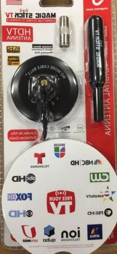 MAGIC STICK TV™ MS-40 Antenna  HDTV Free HD Channels 16 F