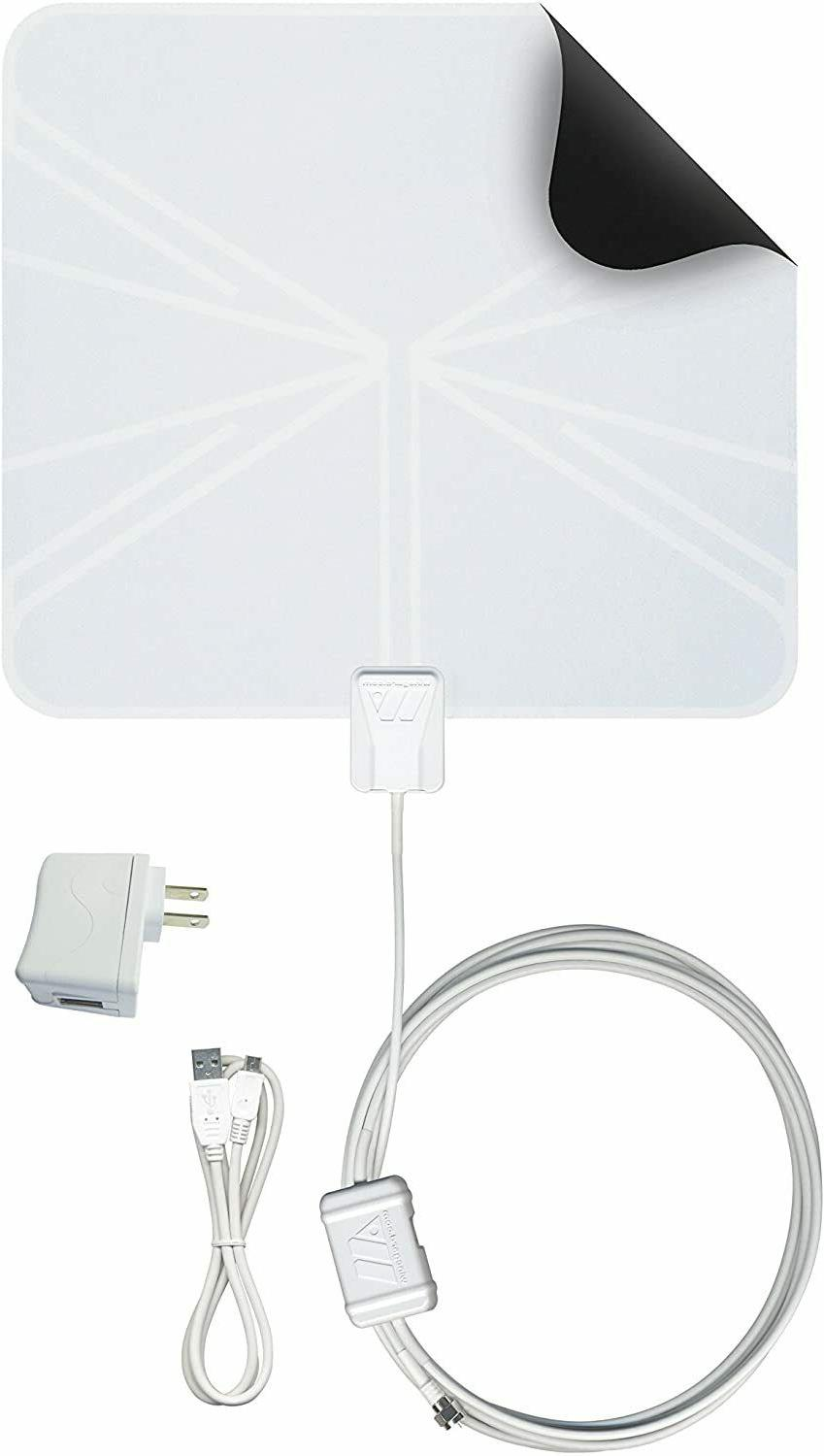 FlatWave Amped FL5500A Amplified Antenna NEW