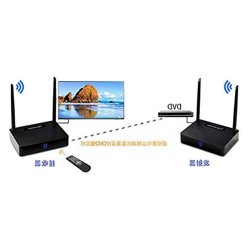 Wireless HD595 Extender/Adapter/Dongle with Signal