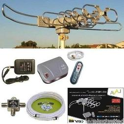 LAVA HD2805 HDTV DIGITAL ROTOR AMPLIFIED OUTDOOR TV ANTENNA