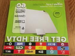 Mohu Leaf HDTV Ultimate Amplified HDTV Antenna