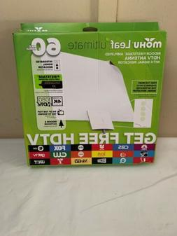 Mohu Leaf Ultimate Indoor Firststage Amplified HDTV Antenna
