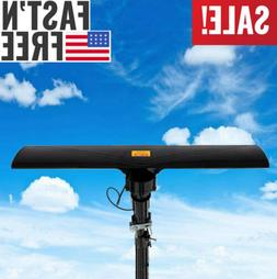 Long Range 420 Miles Outdoor Amplified HD TV Antenna High Ga
