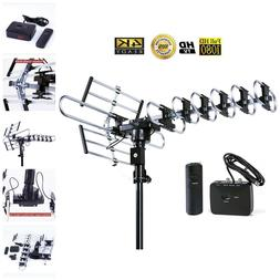 Long Range Outdoor Antenna 4K HDTV With Remote Control Motor