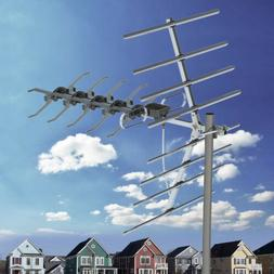Long Range Outdoor TV Antenna Satellite Amplified HDTV UHF D