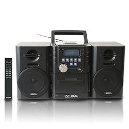 ms3912 mini entertainment system with am/fm, usb, cd, mp3 pl