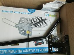 ViewTV Outdoor Amplified HDTV Antenna with Adjustable Mount