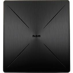 RCA SLIVR Amplified Indoor Flat HDTV Antenna, Multi-Directio