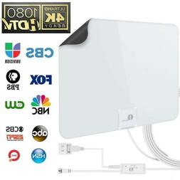 TV Antenna - 1byone Amplified 50 Mile HDTV Digital Powerful.